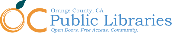 OC Public Libraries Logo -- Home