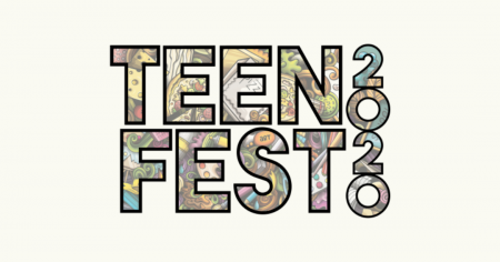 TeenFest button